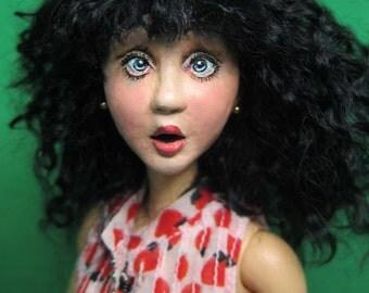 Lulu 17, OOAK, Doll Only.