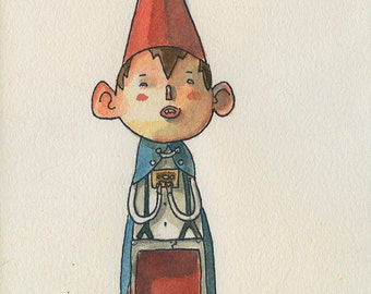 Wirt from Over the Garden Wall  -  Original character sketch