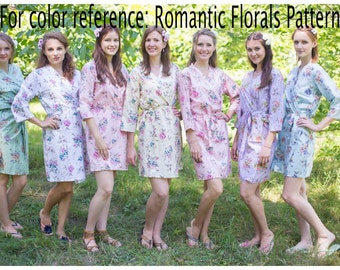 Romantic Floral - Any Style Any Color Robe, Kaftan, PJ, Skirt, Maternity Robe, Apron, Shirt, Summer Dress, Shorts - You name it