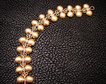 Ancient Inspired, Brass bracelet, Brass jewelry, greek bracelet, roman bracelet, ancient jewelry, dome bracelet