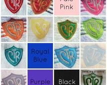 LDS Baptism Towel - CTR - Pick your Color