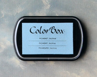 Blue Stamp Pad (Robin's Egg) // Pigment Archival Ink // ColorBox