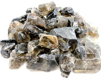 Smoky Quartz Natural, (one) Crystal Healing, Rock Hound, Quartz, Artisans, Rough, Crafts, Crystal Grids