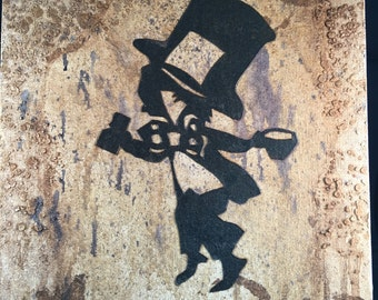 Alice in Wonderland: Mad Hatter Silhouette