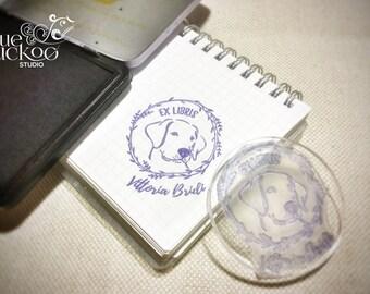 """EXLIBRIS Rubber stamp - 2"""""""