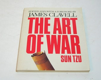 The Art Of War By Sun Tzu, Chinese Philosophy, Vintage Book
