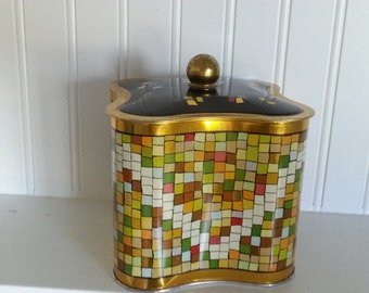 Mid Century Modern Tin Made in West Germany
