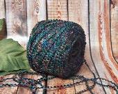 40% OFF Undersea Yarn, Rich Deep Jeweltones, Purple, Emerald, Teal, Gold & More, Knitting and Crochet Yarn,  BIN 2