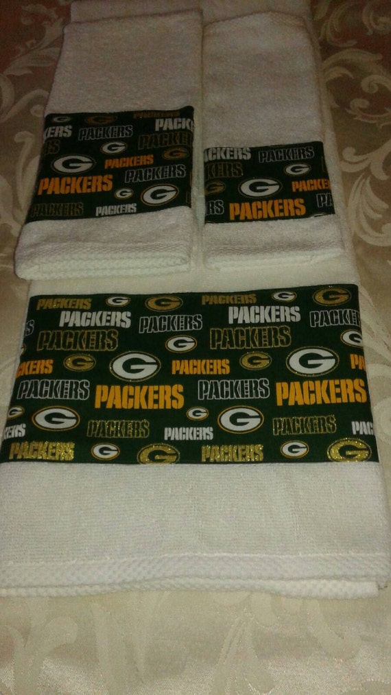 Green Bay Packers Bath Towel Set All Teams Available