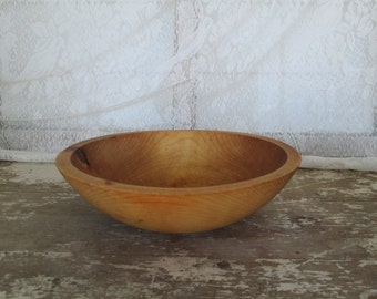 Wooden Bowl Fairbanks Alaska The Great Alaskan Company Round Wood Bowl Country Home Cottage Farmhouse Farm House Rustic Prairie