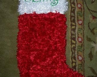 Personalized Christmas stocking