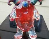 Red Horned Kooky Monster