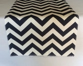 Navy Blue Table Runner Chevron Zig Zag Stripe Wedding Linens Table Centerpiece Navy Blue Nautical Modern Wedding Decor