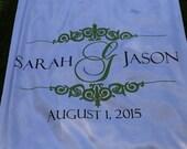Aisle Runner Wedding Isle Runner White Ivory Real Fabric Ceremony Runner Decoration