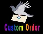 CUSTOM ORDER for Asha