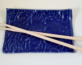 Stoneware Koi Fish Tray