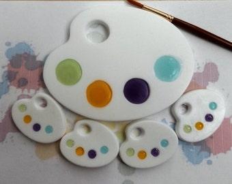 Artist Palette Soap, Art Party, Paint Palette Soap Favors, Bag Toppers, Party Favors, Soap Favors, Favor Soap, Favor Soaps