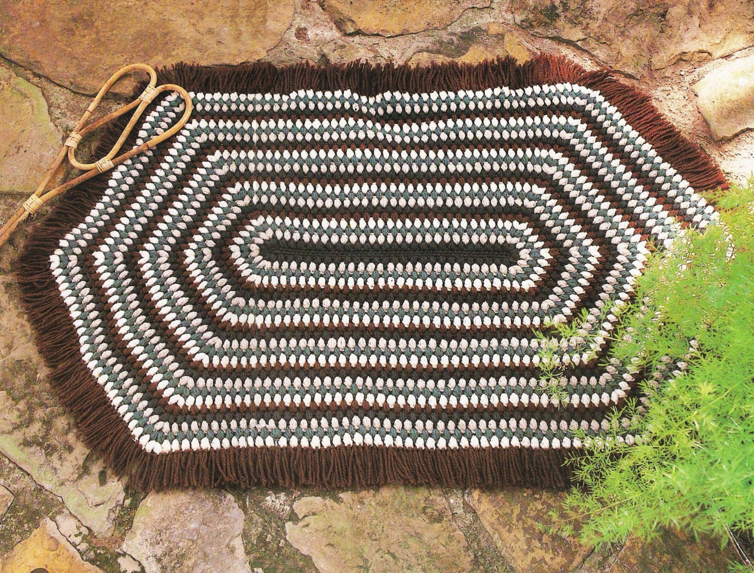Magnificent Oval Crochet Rug Pattern Photos - Easy Scarf Knitting ...
