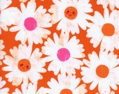 SALE - Cotton + Steel - Trinket Collection - Happy Garden in Orange