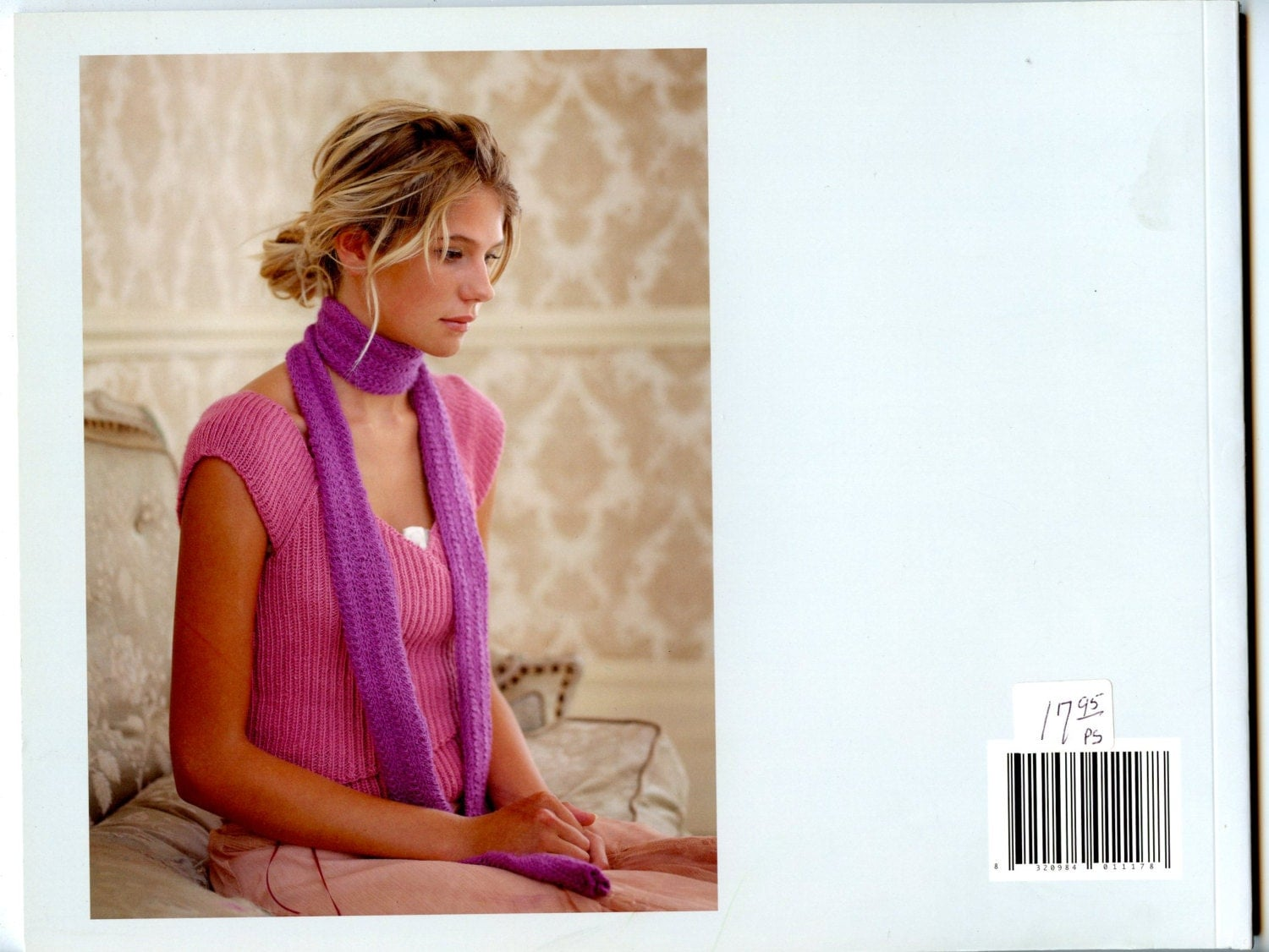 pure silk debbie bliss knitting pattern book 12 designs for