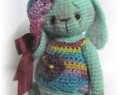 Crochet Pattern for Loopsy  a Thread Artist Teddy Bear/ Bunny  by Joanne Noel of  Bayou Bears