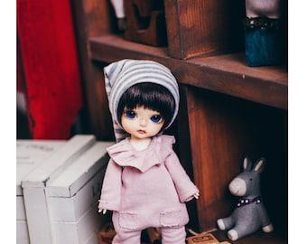 Lati Basic Baby suit - Baby Pink
