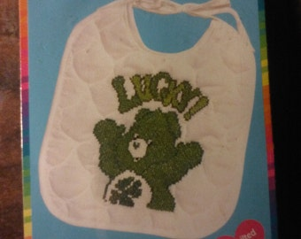 Care Bears Cross Stitch Bib Kit