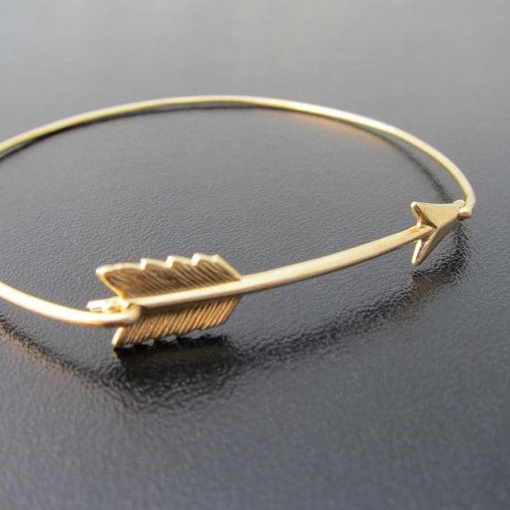 arrow bracelet gold arrow jewelry gold bangle bracelet