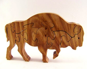 Bison Wood Puzzle