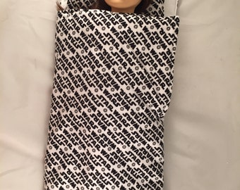"Star Wars American Girl sized Sleeping Bag fits all 18"" dolls and Bitty Baby Too"