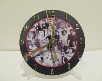 I Love Lucy CD clock