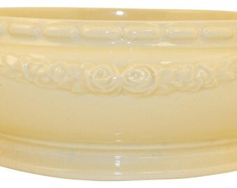 Roseville Pottery Volpato Low Bowl 100-6