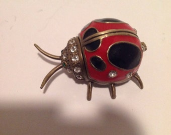 Ladybug Trinket Box