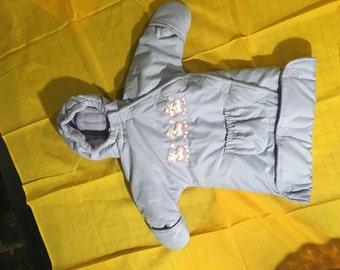 Baby: 3-6 month Winter Violet coat