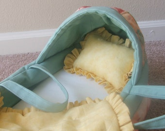 Baby Doll Bassinet for Bitty Baby and other baby dolls