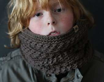 Crochet PATTERN Montero Cowl Crochet Cowl Pattern Includes Sizes Toddler, Child, Adult