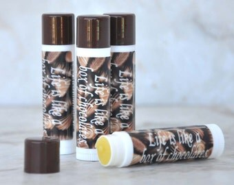 Lip Balm - Life is Like a Box of Chocolates