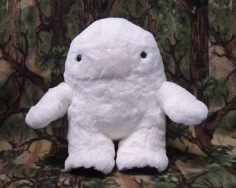 The Adorable Snow Creature plushie