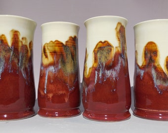 Lava -  Ceramic Tumblers - Set of Four