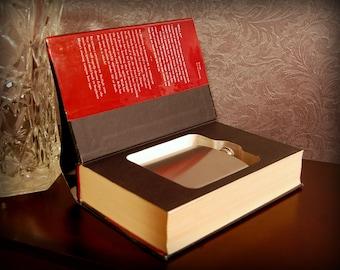 Hollow Book Safe & Flask (Eclipse)