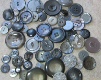 Shades of Gray Buttons