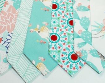 Mint Neckties Wedding Neckties Mint Linen Necktie Mens Neckties Custom Neckties Mens Neckties