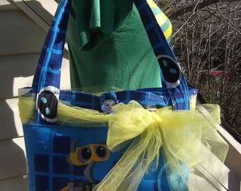 Wall E  Large Tote / Bucket  Bag  Disney Evie
