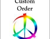 Custom order baby bodysuit