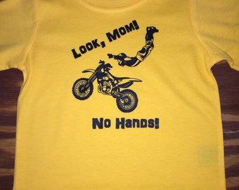 Look Mom, No Hands - T-Shirt