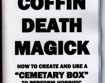 Black Coffin Death Magick Book