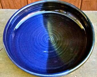 Deep Dish  Pie Plate / Casserole Sherry's Cross