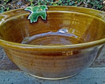 Pottery Serving Bowl, Ceramic Serving Bowl, Serving Bowl, Mixing Bowl, Sugarlands Glaze, Ready to Ship