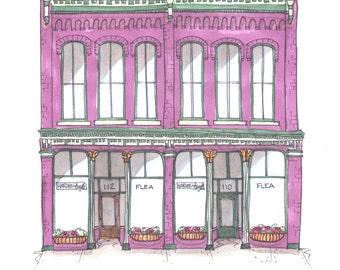 Harless + Hugh Custom Storefront Prints