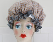 "Shower Cap Women's Waterproof Washable ""Foxy"" Shower Cap"